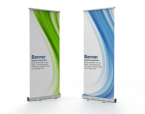 various 3D Banner Roll-up Stand