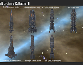 2D Cruisers Collection II 3D