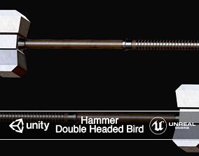 3D model Hammer Long Double Headed Bird