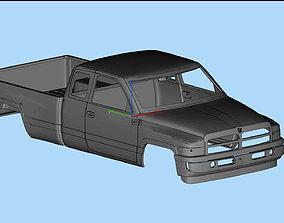 Dodge Ram 1500 2nd gen Printable Body Truck