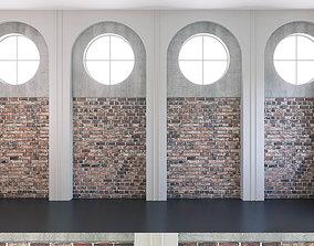 3D Wall Panel Set 139