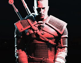 3D printable model Geralt of Rivia
