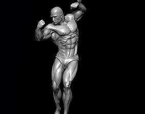 Bodybuilder pendant 3D print model lymphatic