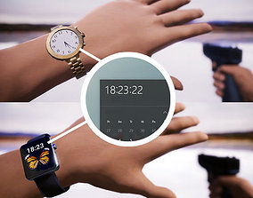 Watches for Unity3D and Unreal Engine realtime