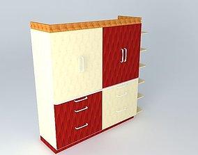 Wardrobe wardrobe 3D model