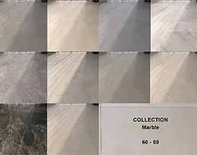 3D model Marble Floor Set Collection 60 - 69 Texture