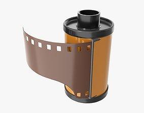 3D model Photographic film cassette