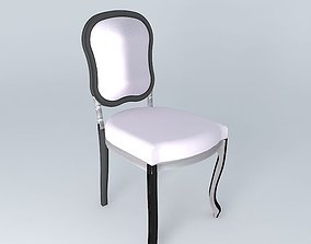 3D model Beautiful vintage chair