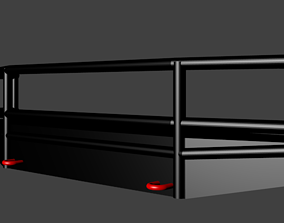 Fab Fours Black Steel Elite Bumper with Full 3D model