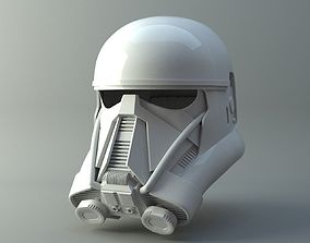 3D print model Death trooper helmet - Star Wars Rogue one