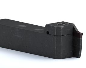 3D model lathe cutter