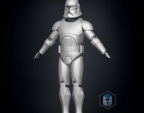 3D print model Phase 1 Animated Clone Trooper Armor