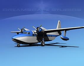 Grumman G-73 Mallard V04 3D
