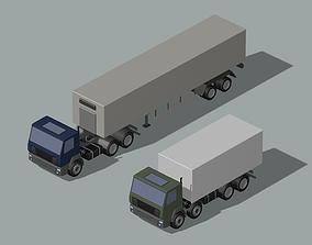 freight transportation 3D model