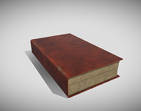 Generic Old Book 3D asset