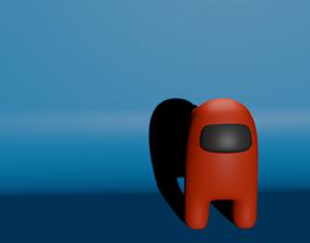 3D model Among us Game Charecter
