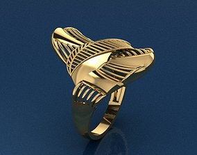 Ring 3 3D print model fashion