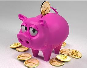 science-challenge 3D model Piggy Bank
