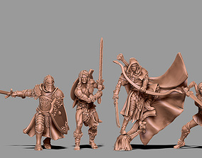3D printable model Heroic fantasy bundle - 4 fantasy 2