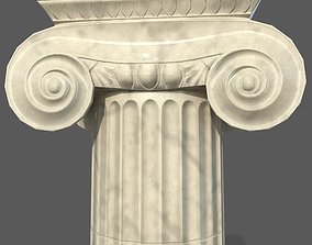 Ionic column 3D asset