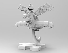 3D print model Banjo Kazooie Statue