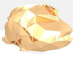 3D printable model Polygonal Napoleon fish Parametric