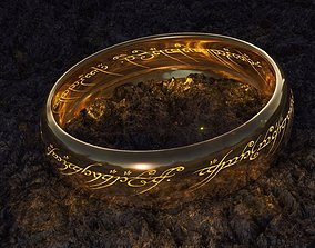 The lord of the rings - Ring of omnipotence 3D model