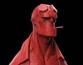 3D print model Hellboy Bust statue