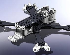 robot TBS SOURCE ONE V02 V3 FULL 3D PRINTED PARTS