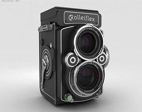 3D model Rolleiflex 2-8 FX