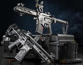 3D model Springfield Armory Saint edge PDW Saint edge 2