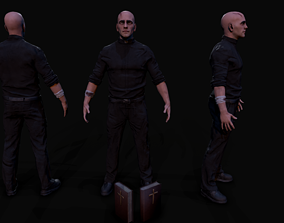 Priest 3D asset