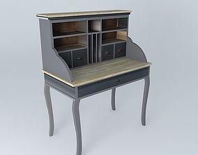 Secretary Chenonceau Maisons du monde 3D