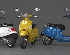 motorcycle Vespa Sprint 3D model