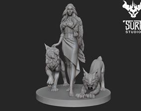 figure 3D printable model Freya