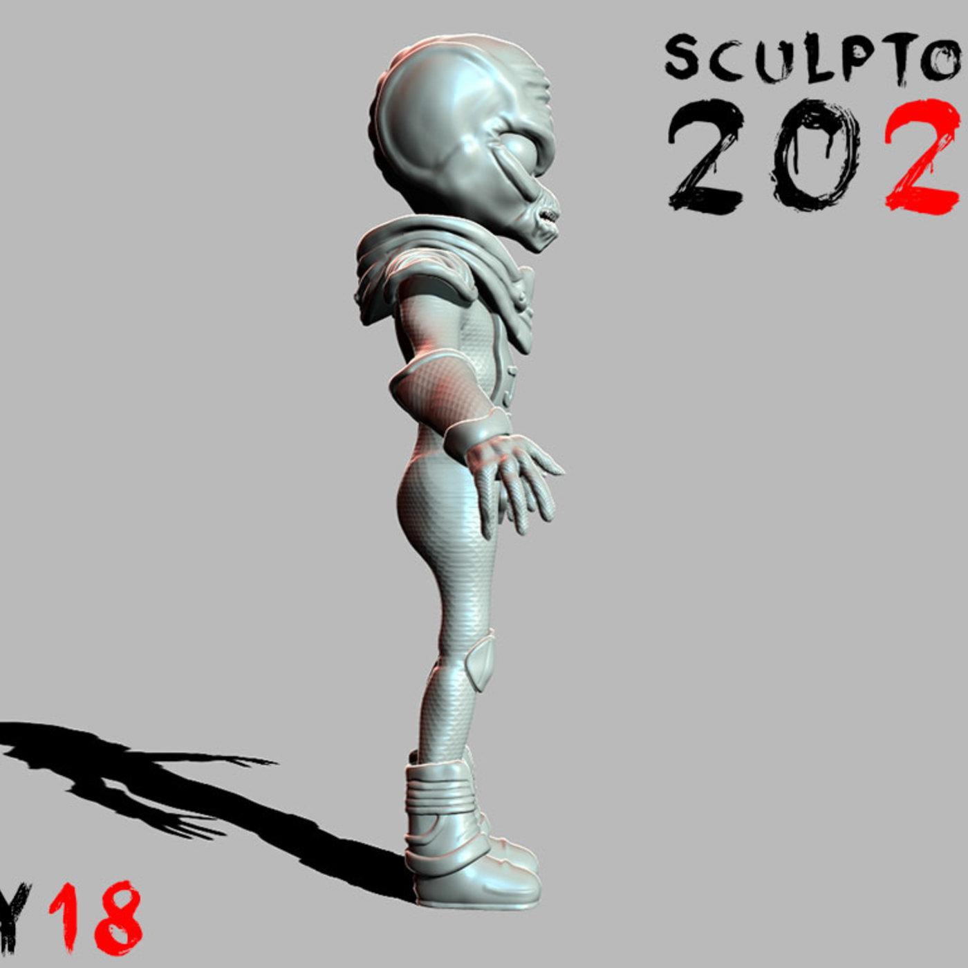 Sculptober Day 18 Destroy