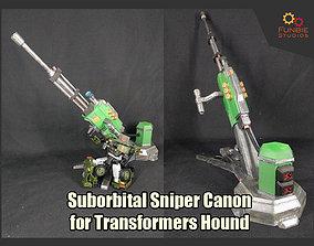 Suborbital Sniper Canon for Transformers 3D print model