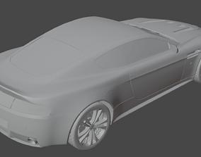 3D model Aston Martin Vantage vehicle