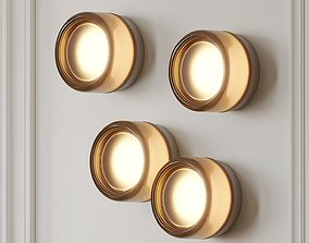 3D model Dimple Smoke Sconce by Rich Brilliant Willing