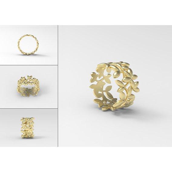 Olive ring Tiffany