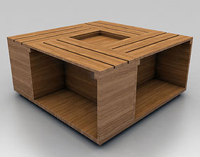 3D Center Coffee Table 03