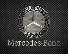 3D model avto Mercedes Benz Logo 3