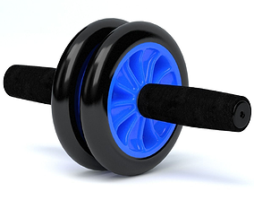 Abs Exercise Wheel 3D