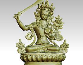 3D print model Manjusri bodhisattva