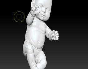 animated baby 3D print model