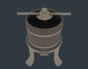 grape brewer 3D model