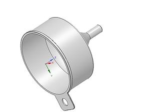 large waste protection funnel v1 3d-print model