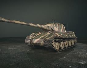 3D asset German Panzer VII Lowe Tank