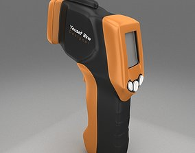 3D electronics Infrared Thermometer
