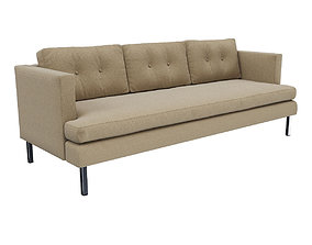3D model West Elm Jackson Sofa